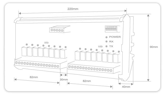 SD600 外型尺寸圖