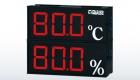 SD800 雙層溫濕度顯示器/雙層字體複合式表面溫度計/雙層警報控制顯示器