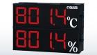 SD814 雙層溫濕度顯示器/雙層字體複合式表面溫度計/雙層警報控制顯示器