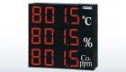 SD815 三層溫濕度顯示器/三層字體複合式表面溫度計/三層警報控制顯示器