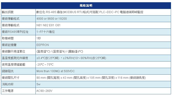 SE4600 規格說明