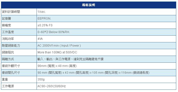 SE4900 規格說明