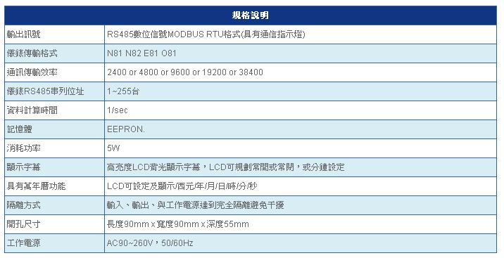 SE5200 規格說明